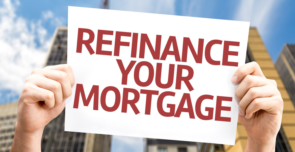 Refinance Your Mortgage sign